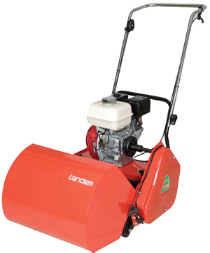 Petrol Mower Tandem Razor 17 6 Blade Petrol Mower
